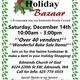 Holiday Bazaar Benefiting Edmonds Senior Center