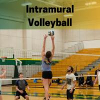 Intramural Volleyball Registration Deadline