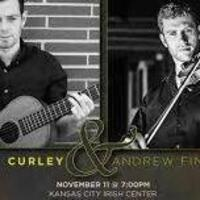 """A Gaelic Roots concert featuring musicians Dave Curley and Andrew """"Finn the fiddler"""" Magill"""