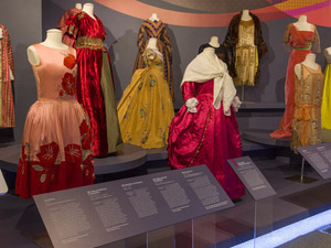 Spectrum of Fashion exhibit.