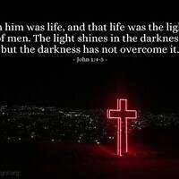Verse of the Day - John 1:4-5