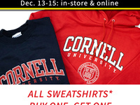 Sweatshirt Flash Sale Buy One Get One 50 percent off