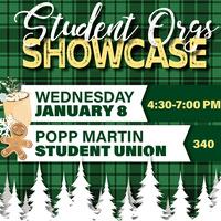 Winter Student Orgs Showcase