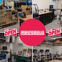 Metropolis Makerspace Open House