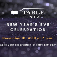 New Year's Eve Celebration at Table 1912