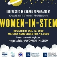 Career Explorations:  Women-in-STEM