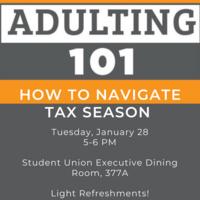 Adulting 101 How to Navigate Tax Season
