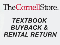 Textbook Buyback and Rental Return at The Cornell Store