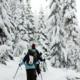 Snowshoe to Bechtel Shelter
