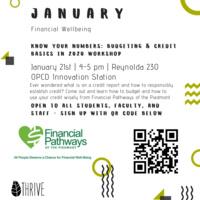 Financial Wellbeing: Budgeting & Credit Basics Workshop