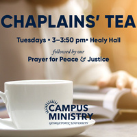 Chaplains' Tea: Welcome Back!