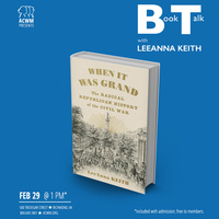 "Book Talk with LeeAnna Keith: ""When It was Grand"""