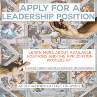 Apply for Student Leadership Flyer