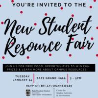 New Student Resource Fair