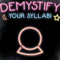 Demystify Your Syllabi
