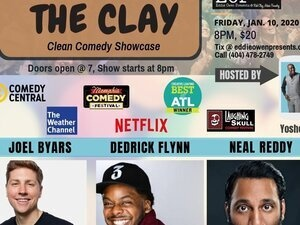 comedy on the clay