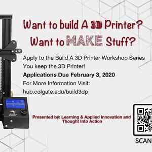 Build Your Own 3D Printer Workshop Series