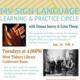 Sign Language Practice Circle