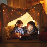Family Fun: Indoor Camping