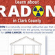 Flyer advertising free radon presentations in Clark County