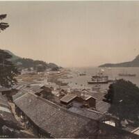 359 Shimonoseki Enami Nobukuni ca. 1890s  Harvard Art Museums/Fogg Museum Gift of John and Ella Rosenfield
