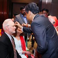 Christopher Vecsey, Carol Ann Lorenz, Tikala ritual, Sangeet ceremonial, Hindu wedding, New Delhi, January 19, 2017