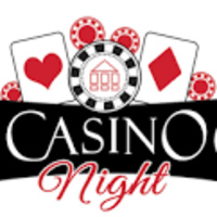 Casino Night with chips and cards