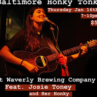 Baltimore Honky Tonk & Two-Stepping Night: Feat. Josie Toney and Her Honky Tonk Heros