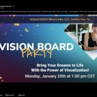 Vision Board Party Webinar
