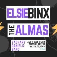 ELSIE BINX wsg The Almas and Zachary Daniels