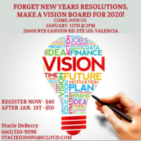 Vision Board 2020 Workshop
