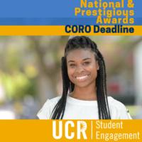 CORO Fellowship - Deadline