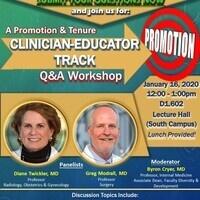 Promotion & Tenure Clinician-Educator Track