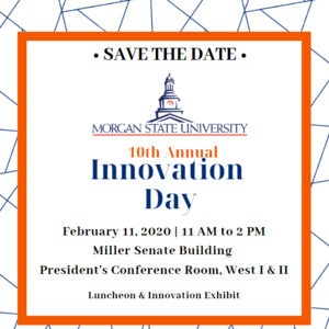 Save the Date Notice for 2020 Innovation Day in Annapolis