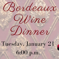 Bordeaux Wine Dinner at Table 1912