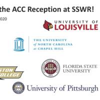 ACC SSWR Reception flyer