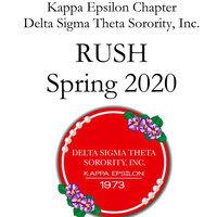 Delta Sigma Theta Sorority Rush 2020