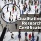 Info Session – Graduate Certificate in  Qualitative Research (CQR)