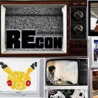 REcon in an old tv, with a few other TVs and screens in a collage