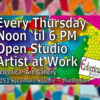 Open Studio -- Artists at Work