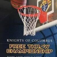 Knights of Columbus Council Free Throw Shoot