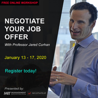 FREE WORKSHOP: Negotiate Your Job Offer