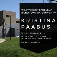 Faculty Exhibit Opening: Kristina Paabus