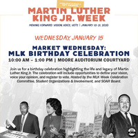 MLK Jr Week | Market Wednesday: MLK Birthday Celebration