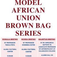 Model AU Brown Bag Series: Somalia Briefing