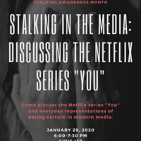 "Stalking in the Media: Discussing the Netflix Series ""You"""