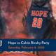Hope vs. Calvin Rivalry Watch Parties