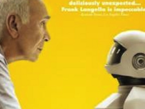 image of an elderly man and a robot