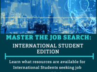 Master the Job Search: Int'l. Student Edition
