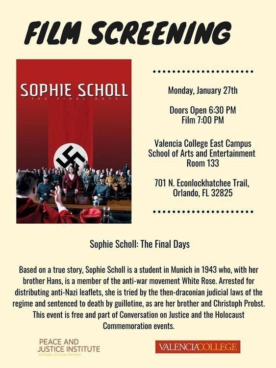 FILM Sophie Scholl: The Final Days